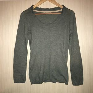Banana Republic Green Lightweight Sweater